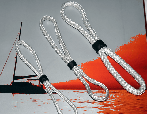Plug and Sail Loop - Dyneema line  - Use for 20 - 30 - 40mm Ring Diameter or other applications.