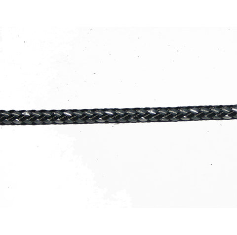 LRSEC - POLYLOCK - DOUBLEBRAID POLYESTER/POLYESTER - 4MM - GREY/WHITE/BLACK