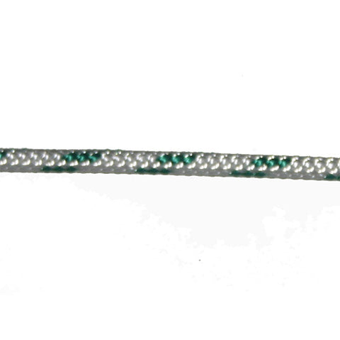 "MRDB017 - 6 MM /   1/4"" - GREEN FLECK - SELL BY FOOT"