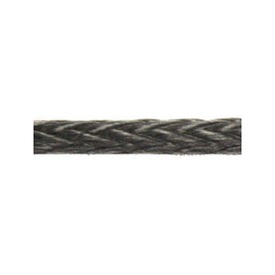 "Dyneema Line - 6 MM  -  1/4"" - BLACK - DYNEEMA SK 78. - SELL BY FOOT"