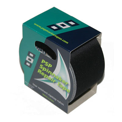 "P15004020 - PSP TAPE- SPINNAKER REPAIR TAPE -BLACK -  2"" WIDE"