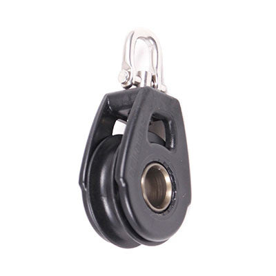 92035  SINGLE SWIVEL , BLACK