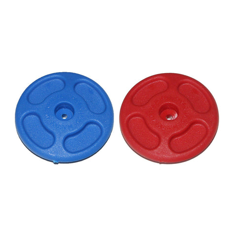 "Trapeze Disk - Blue - 2"" Diameter - HPN196 BLUE OR RED"
