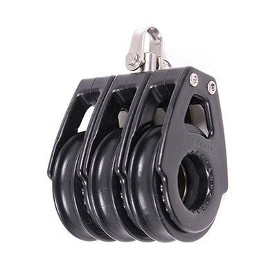 92030 TRIPLE SWIVEL , BLACK