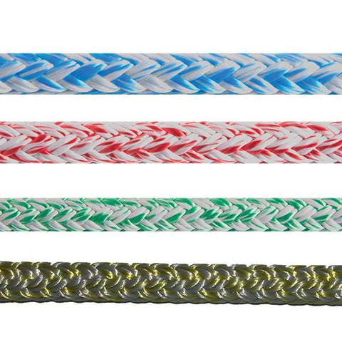 HEAT SET PRE STRETCHED ROPE - POLYESTER/POLYESTER COVER AND BRAIDED CORE. MELTEMI FIX