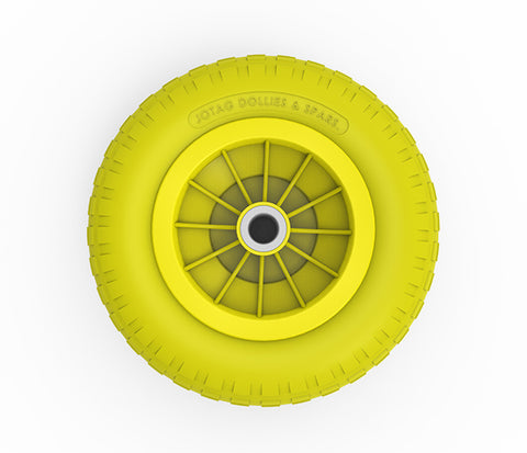 Wheel Replacement Dolly - Jotag -  Foam Filled Tire.