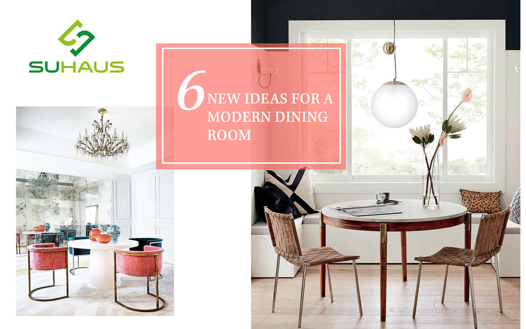 6 new ideas for a modern dining room