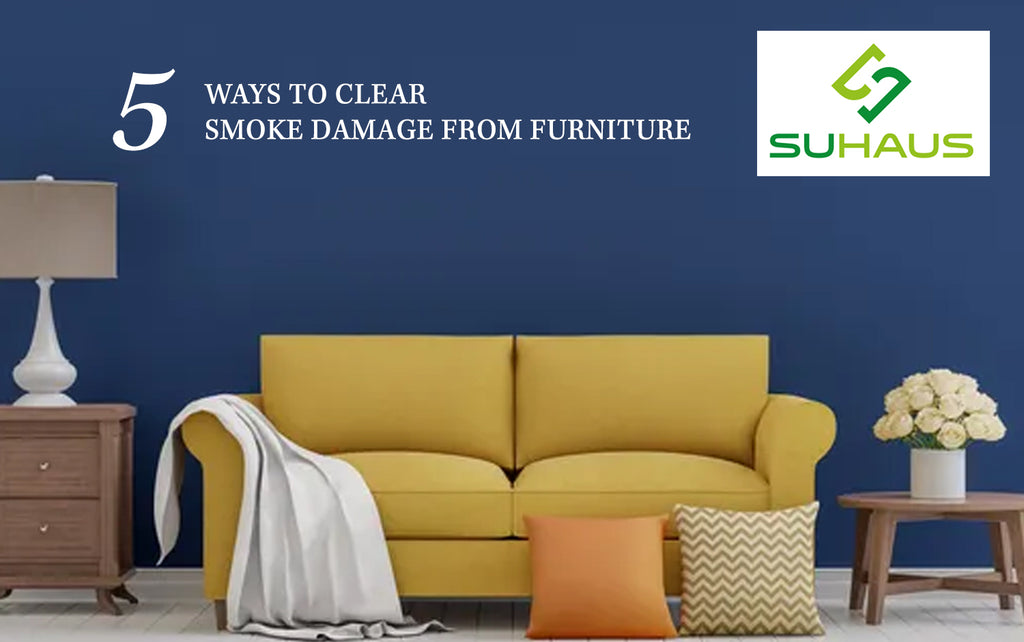 5 Ways to clear smoke damage from furniture