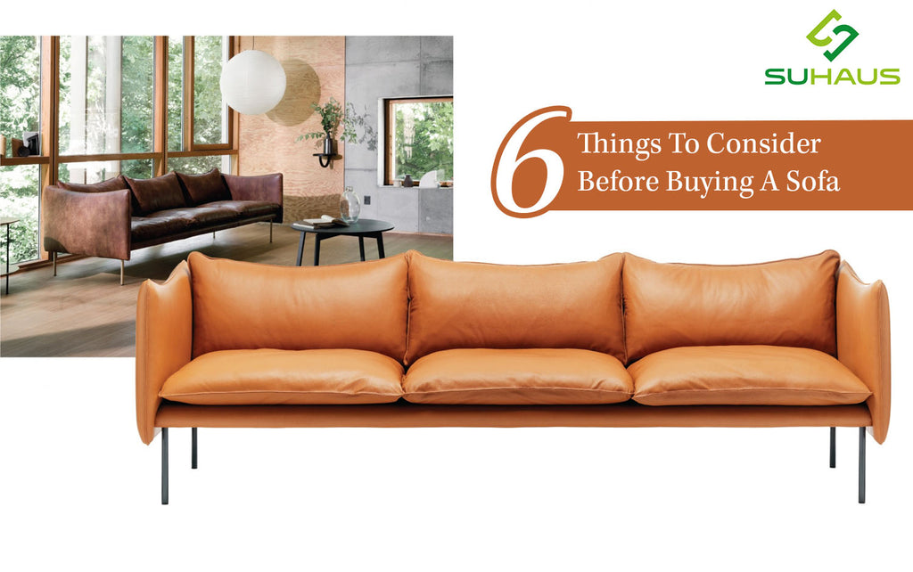 6 Things To Consider Before Buying A Sofa