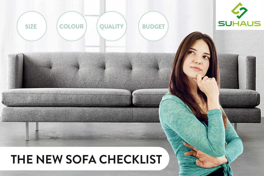 The New Sofa Checklist