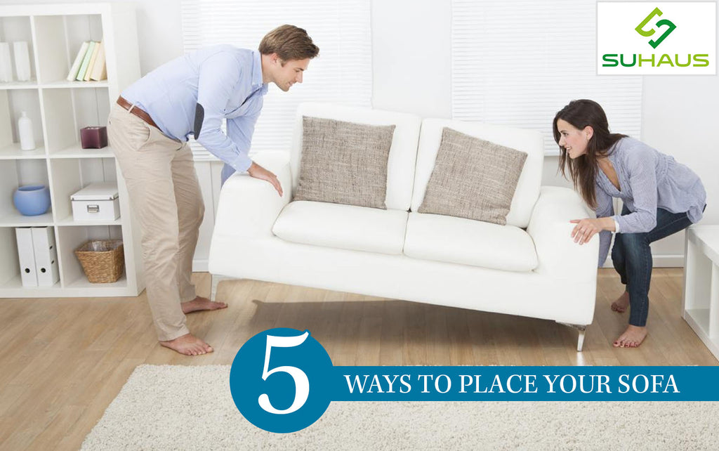 5 Ways To Place Your Sofa