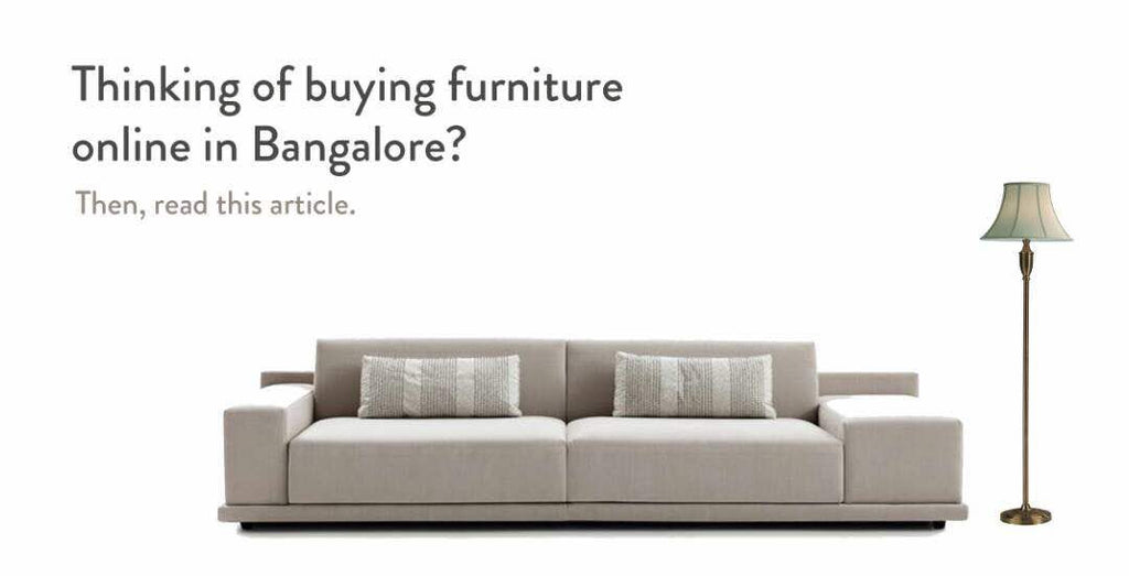 Things to Keep in Mind When you go Plan to Buy Sofa in Bangalore