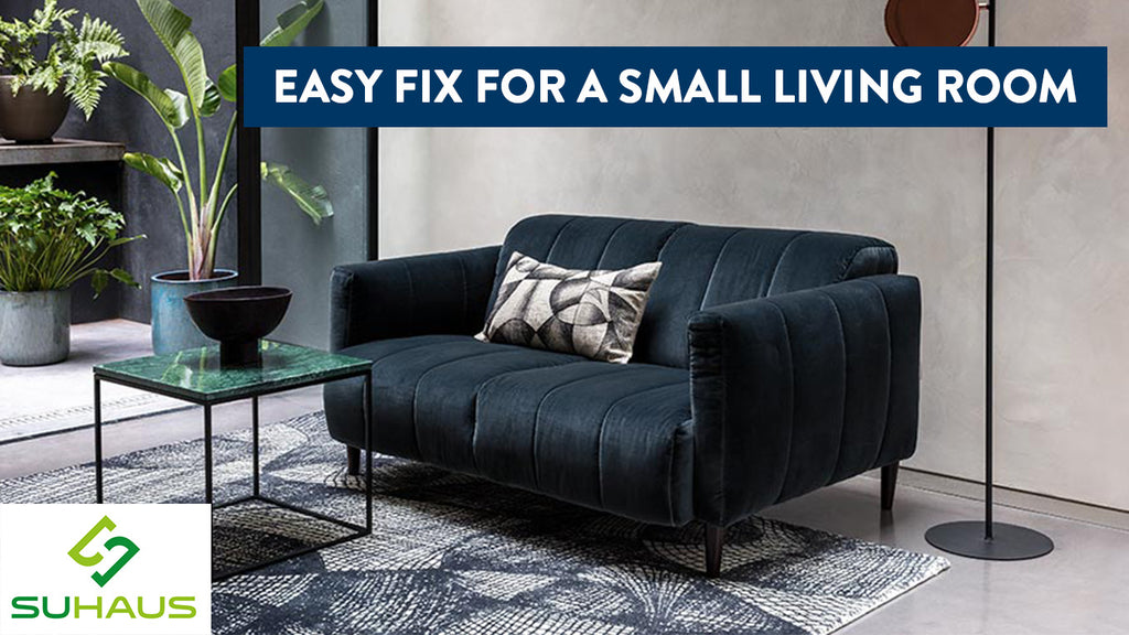Easy Fix For A Small Living Room
