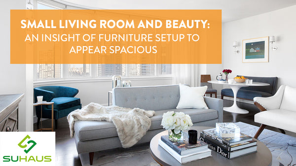 Small Living Room And Beauty: An Insight Of Furniture Setup To Appear Spacious