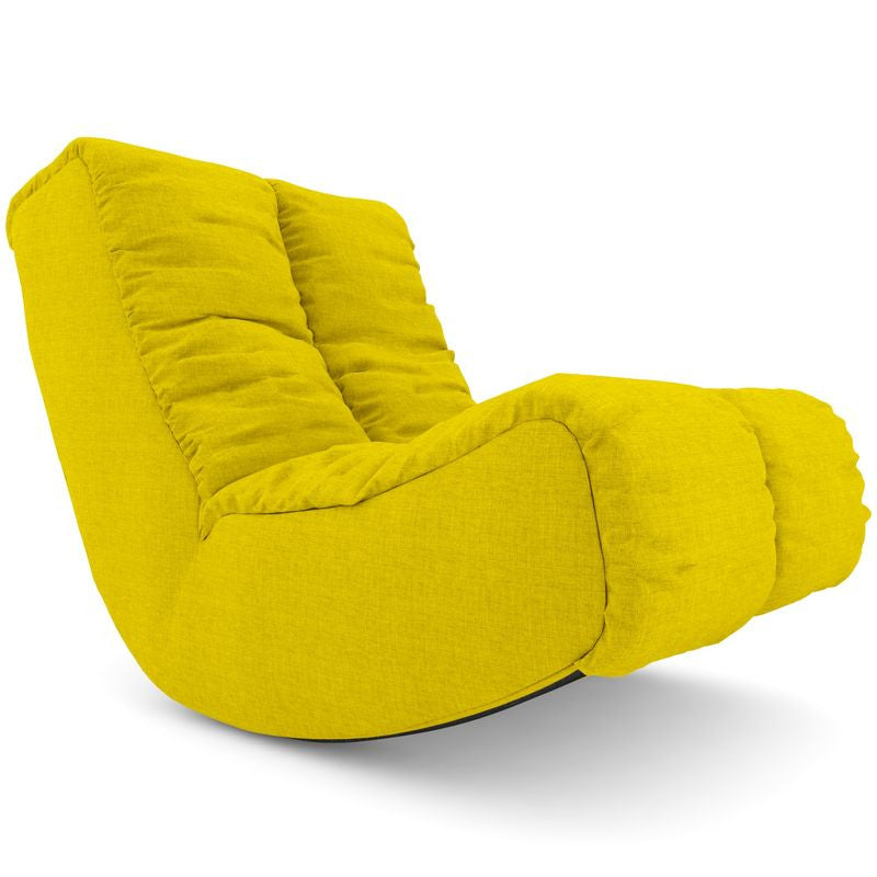 Maxima Yellow Single Seater Sofa In Bangalore
