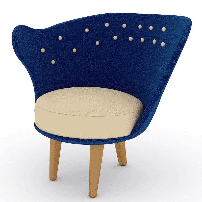 Stella Chair in Blue Colour