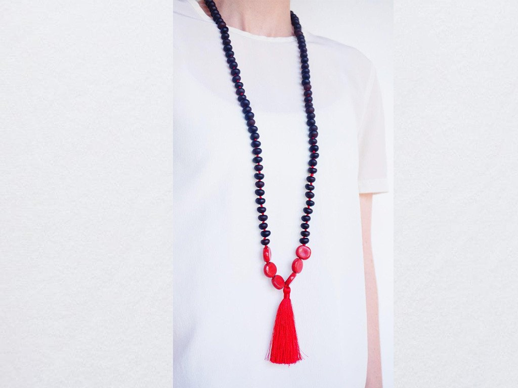 Red Life Necklace