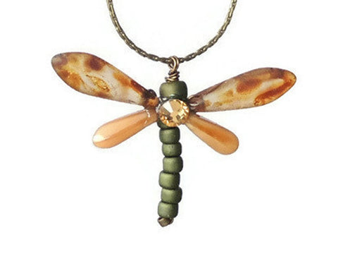 Collar Brownstone Dragonfly