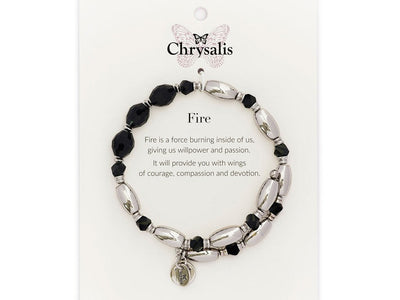 Fire Black Wrap Bangle