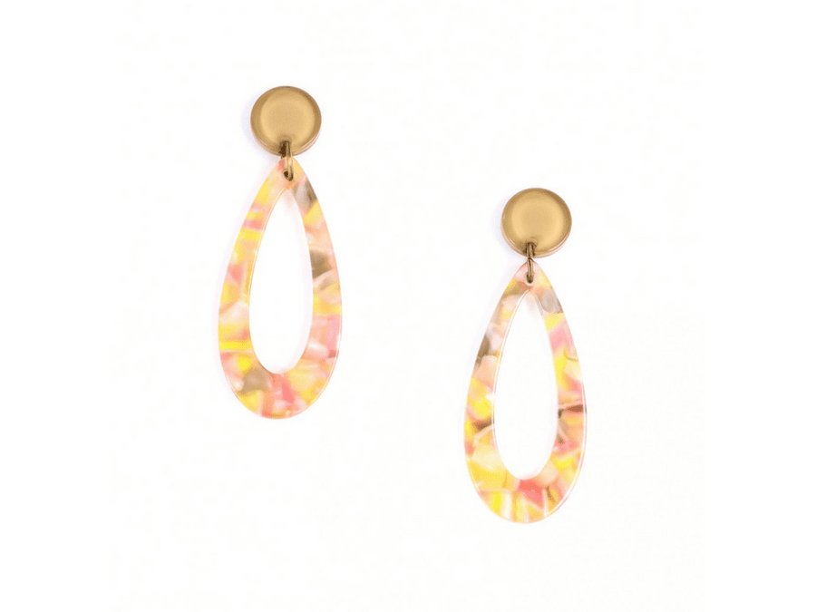 Marbella Resin Drops - Pink