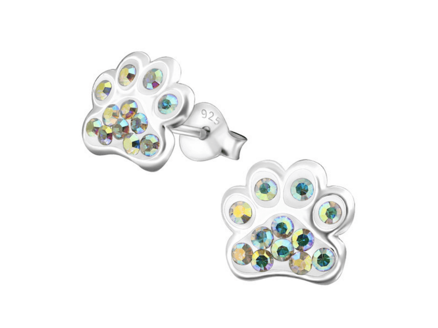 Aros Mini Sparking Paw Print - Multi
