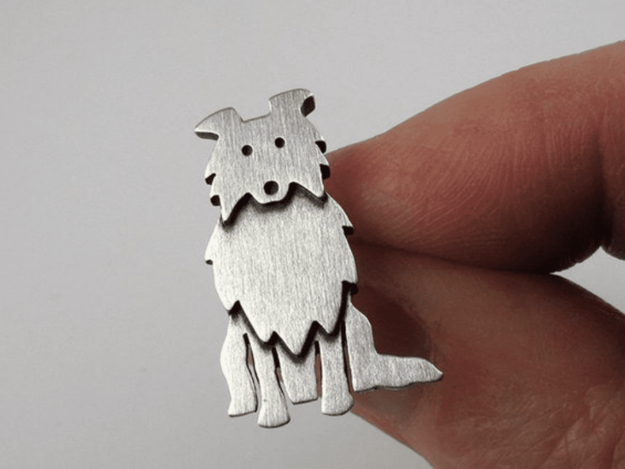 Pin Mini Amigo Collie