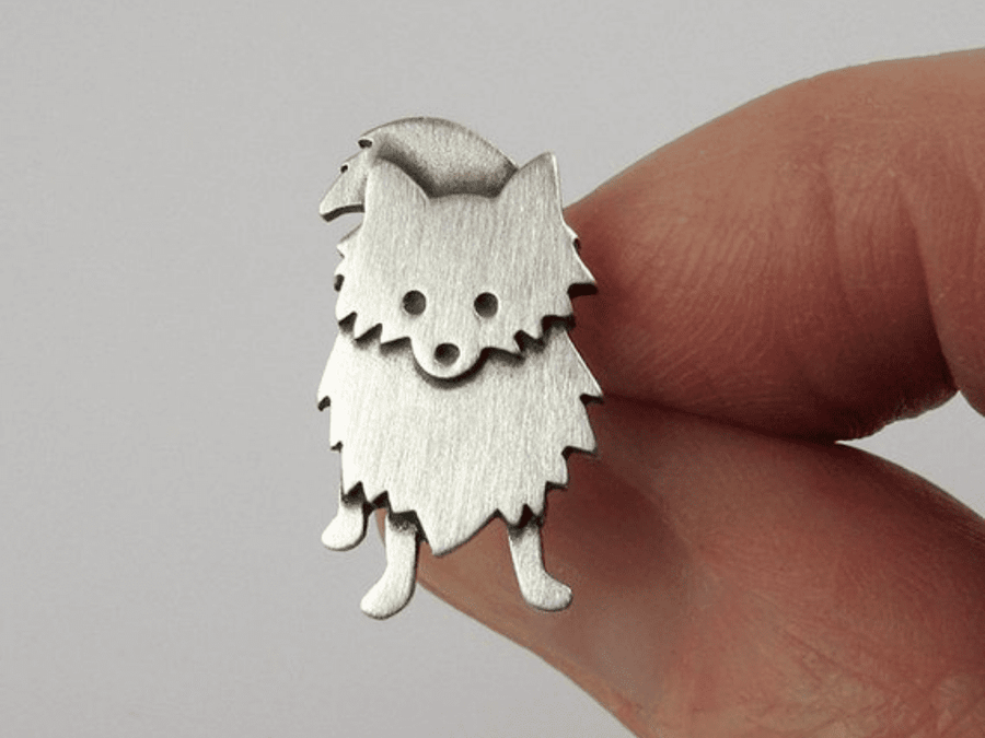 Pin Mini Amigo Pomerania
