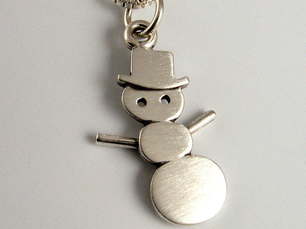 Collar Mini Amigo Snowman