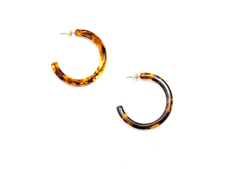 Semi-Traslucent Resin Hoops