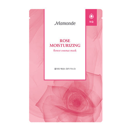 Mamonde Moisturizing Flower Essence Mask - Rose