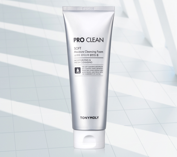 Tony Moly Pro Clean Soft Moisture Cleansing Foam