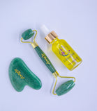 Nourishing Oil And Luxurious Jade And Guasha Kit