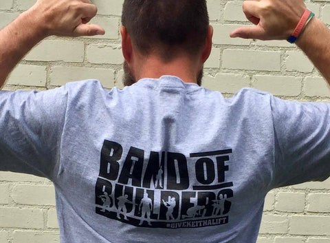 band of builders t shirt