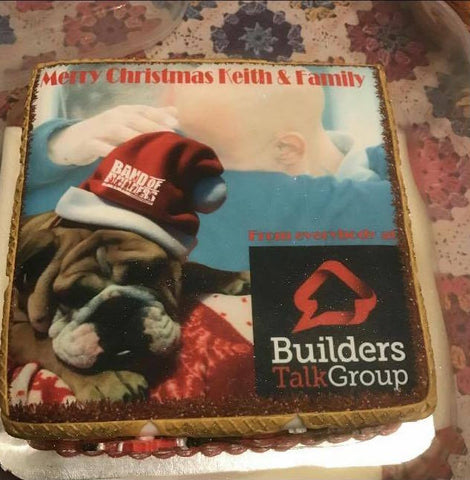 Band of Builders cake