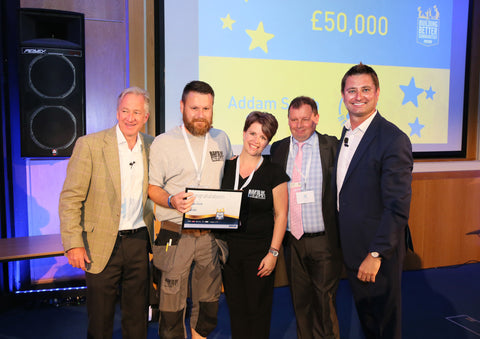 Band of Builders founder Addam Smith wins national award
