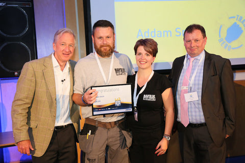 Band of Builders founder Addam Smith wins national Jewson 'Trade Hero' award