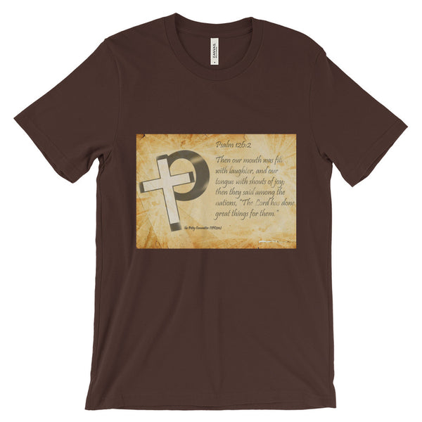 The Petty Committee with Bible Verse Unisex short sleeve t-shirt