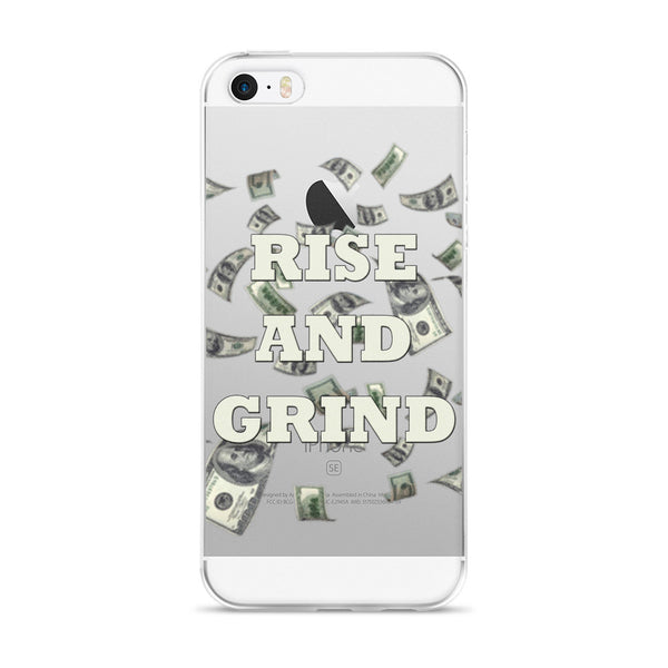 Rise And Grind iPhone case