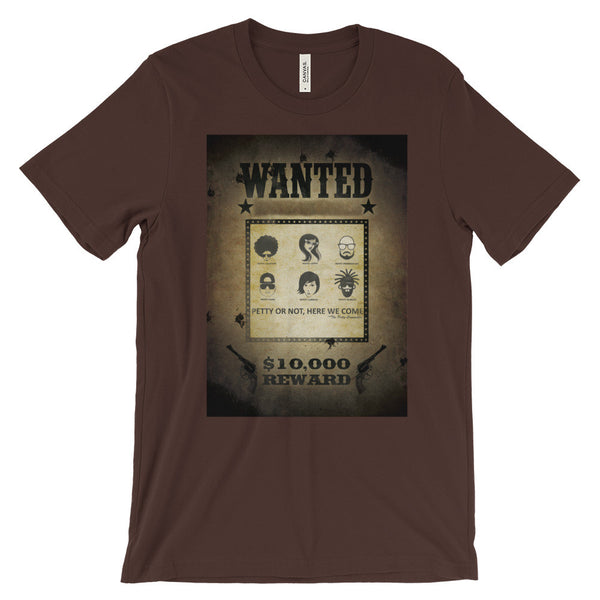 Wanted: The Petty Committee Unisex short sleeve t-shirt