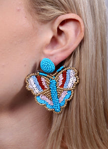 Nome Butterfly Beaded Earring