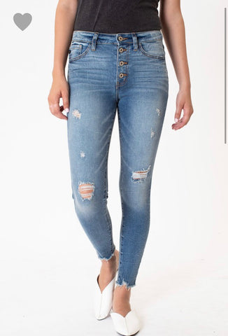 Kancan High Rise R&B Skinnies