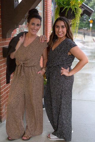 Going Places Leopard Jumpsuit