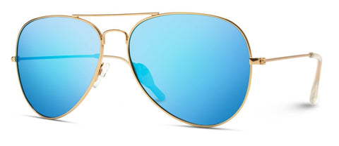 Classic Polarized Lens Aviator Sunglasses
