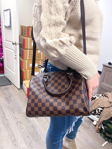 Stella Checkered Handbag