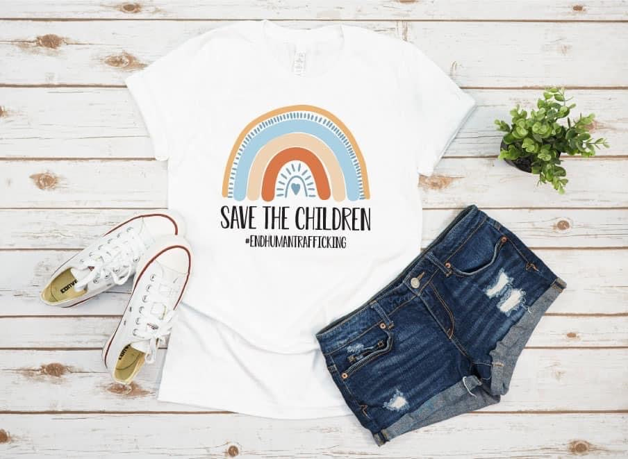 Save The Children (Donation To Operation Underground Railroad) PRE ORDER
