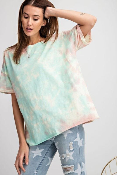 Vibe Check Tie Dye Top