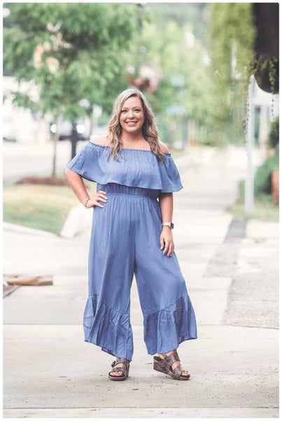 Everyday Off the Shoulder Jumpsuit