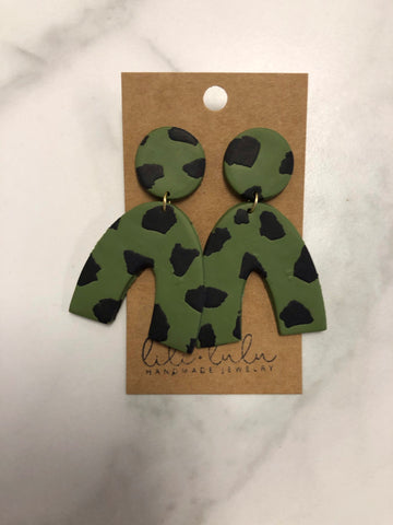 Killer Queen Clay Earrings