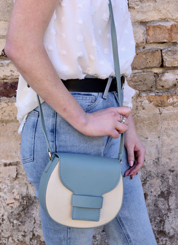 Brunch Crossbody With Canvas Accent
