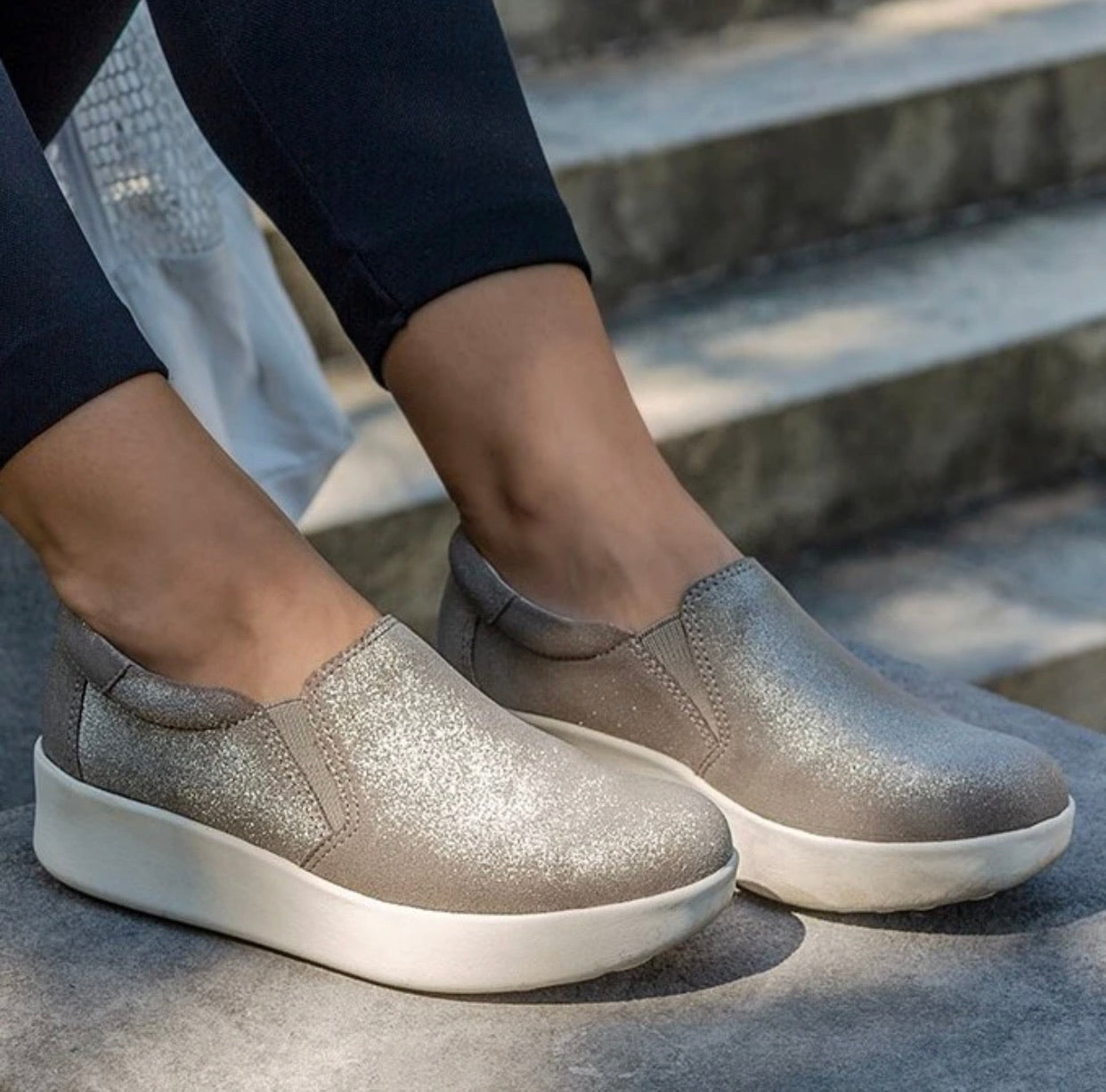 OTBT - Camille Silver Sneaker